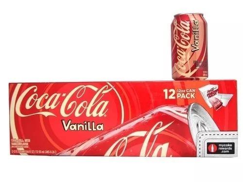 12 Pack Coca Cola Vanilla Vainilla Importada