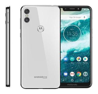 Smartphone Motorola Moto One, 64gb, Branco, Seminovo
