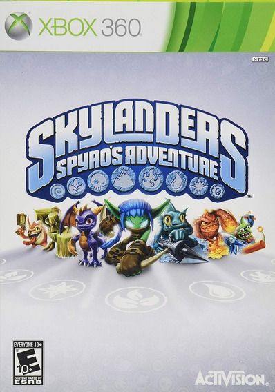 Skylanders Spyros Adventure Xbox 360 Original Somente Mídia