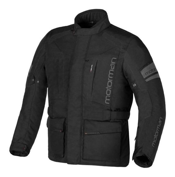 Campera Moto Protecciones Impermeable Motorman Fenix