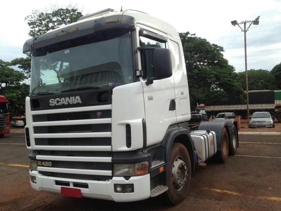 Scania R124 6x4 420