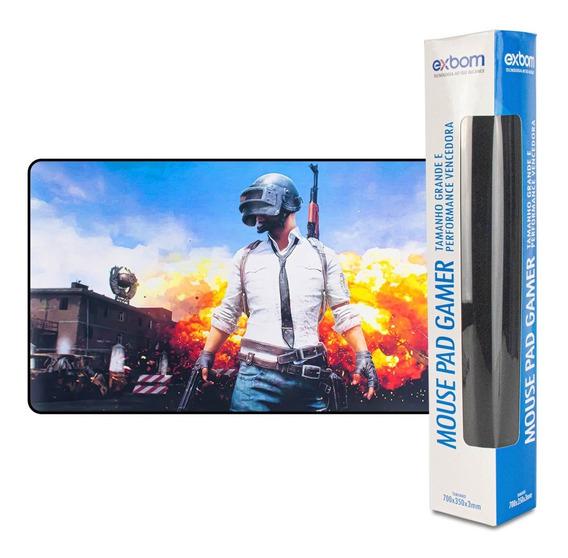 Mousepad Gamer Grande 70 X 35 Cm Vários Modelos Promoção