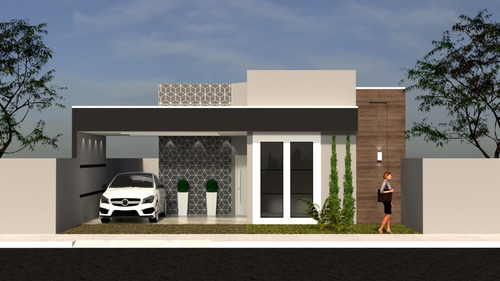 Imagem 1 de 7 de Planta De Casa 2 Quartos - Projeto Completo+aprovação Ea-138