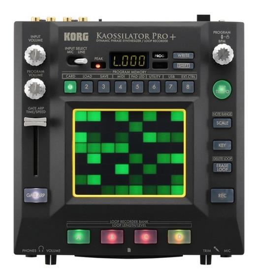 Módulo Sintetizador Korg Kaossilator Pro+ Grava Loops Mfull