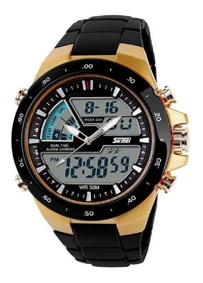 Relógio Masculino Esportivo Skmei 1016 Pronta Entrega