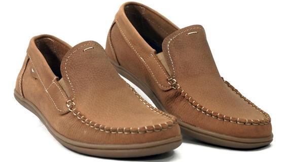 Zapato Naútico Hombre Cuero Donato Mod. 460 Calzados Susy