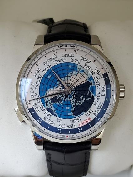 Relógio Montblanc Orbis Terrarum Worldtime Heritage
