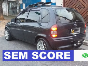 Gm Corsa Hatch Financiamos Mesmo Com Score Baixo