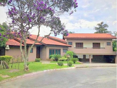 Casa Com 5 Dormitórios Suítes À Venda, 391 M² Por R$ 3.255.000 - São Paulo Ii - Cotia/sp - Ca3098