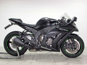Kawasaki Ninja Zx-10r Abs 2015 Cinza