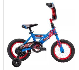 Bicicleta Spiderman Marvel-huffy R16, Nueva, Original, Msi