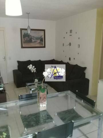 Imagem 1 de 15 de Apartamento Com 2 Dormitórios À Venda, 49 M² Por R$ 136.000 - Jardim Olinda - Mauá/sp - Ap0670