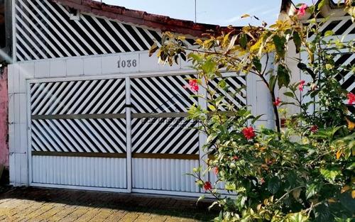 Imagem 1 de 15 de Casa Reformada Na Vila Mirim Em Praia Grande - Sp