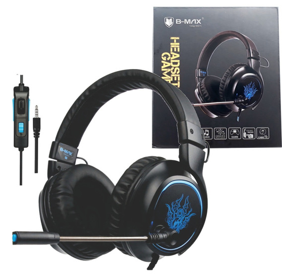 Headset P2 Jogo Ps4 Pc Celular Sound 7.1 Barato Bmax