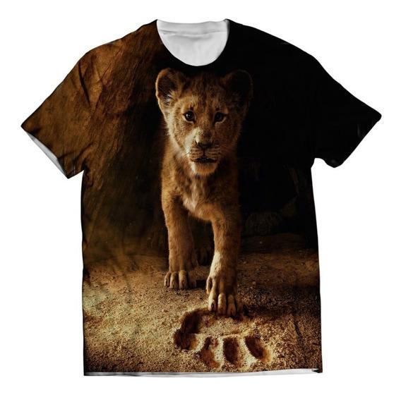 Camisa Simba Camiseta Filme Rei Leão - Estampa Total
