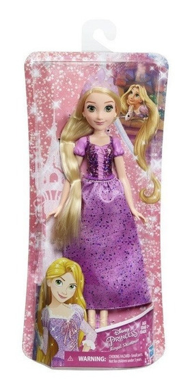 Princesa Disney Clássica Rapunzel 30 Cm - Hasbro