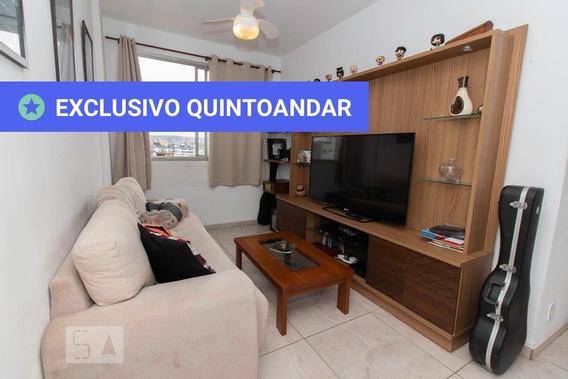 Apartamento No 4º Andar Com 2 Dormitórios E 1 Garagem - Id: 892960480 - 260480
