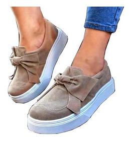 Zapatos Zapatillas Mujer Chatitas Baja Art C1810