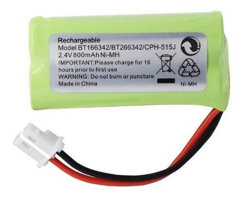 Imagen 1 de 4 de Bateria Telefono 2.4v 800mah Nickel Metal Recargable 2aaa