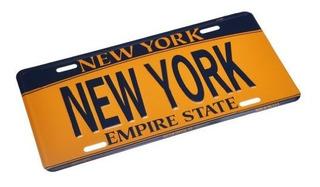 Liberty Nueva York - Placa De Licencia Nueva