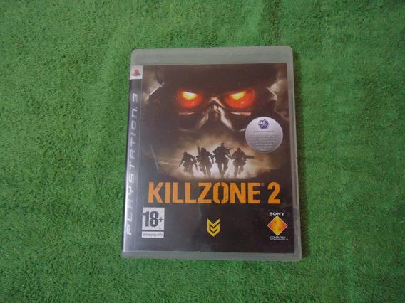 Jogo Ps3 Killzone 2 - Playstation 3 Raro Edição Maior De 18