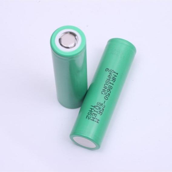 2 Baterias Originais Samsung Inr18650-25r 2500mah Smok Vapor