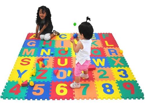 36 Placas Tapete Eva Infantil Atividades Em Casa Sala Grande