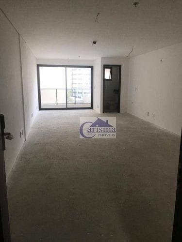 Imagem 1 de 6 de Sala Para Locação, 44 M² Por R$ 1.700/mês - Centro - Santo André/sp - Sa0220