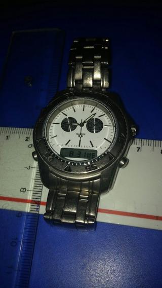 Relógio Masculino Marca Magnum Digital E Analógico Branco
