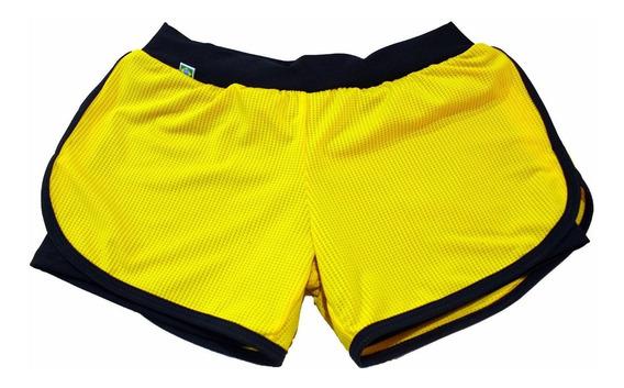 Kit 3 Shorts Duplo Fitness - Plus Size Roupa Academia 56/58