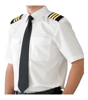 Charretera Piloto Aviacion Insignias 4 3 2 Y 1 Barras Nuevas