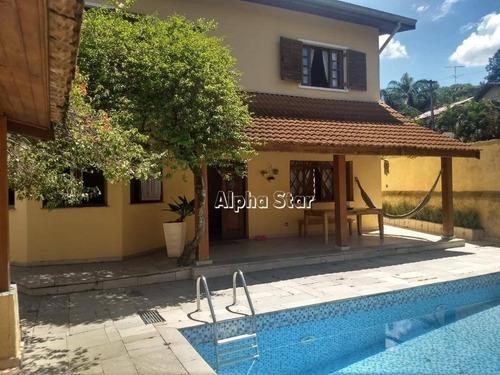 Casa Com 4 Dormitórios À Venda, 380 M² Por R$ 1.750.000,00 - Alphaville 09 - Santana De Parnaíba/sp - Ca3413