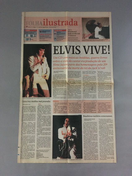 Jonal Elvis Presley - 3 Publicações Do Rei Rock