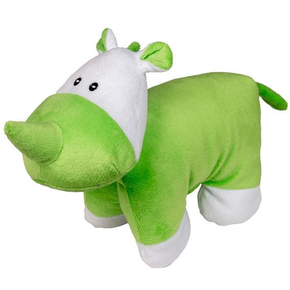 Bonequinho Travesseiro - Rinoceronte - Antialérgico - 28 Cm