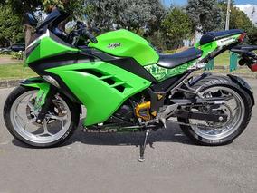 Kawasaki Ninja 300 - Verde Lima - 2013 Negociable