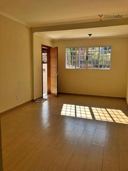 Casa Com 3 Dormitórios Para Alugar, 154 M² Por R$ 2.800/mês - Santa Maria - Santo André/sp - Ca0189