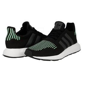 Tenis adidas Swift Run Negro Y Verde Hombre No. Cg4110