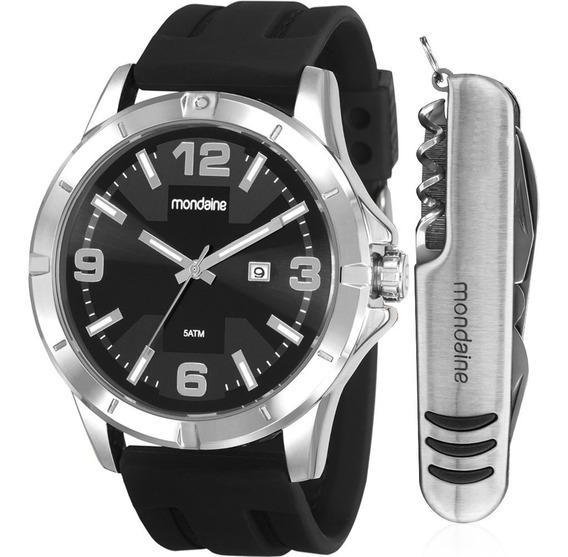 Kit Relógio Masculino Mondaine 99403g0mvni1k1