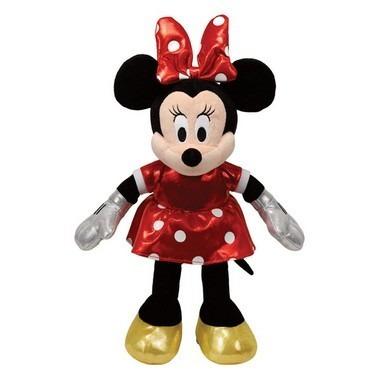 Pelúcia Beanie Babies Minnie Vestido Colorido - Dtc