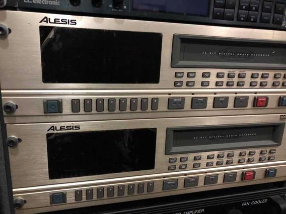 2 Adat Type 2 Alesis Lx20 - Gravador Digital
