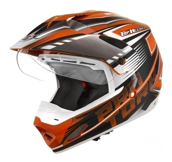 Capacete Cross Th1 Vision Adventure -pro Tork Varias Cores *