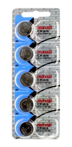 Pila Maxell Cr1616 Litio 3 Volts En Blíster Sellado