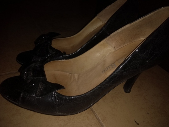 Sandalias Negras De Fiesta