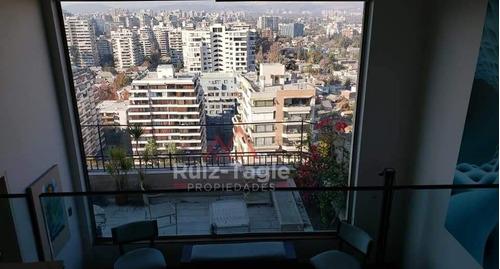 Venta De Magnifico Penthouse Duplex En Las Condes