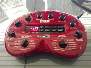 Line 6 Pod2.0 The Ultime Guitar Direct Box Modelador De Amp