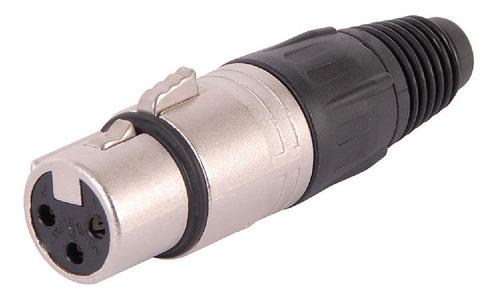 Ficha Xlr Neutrik Nc3fx Canon Hembra Original A Cable