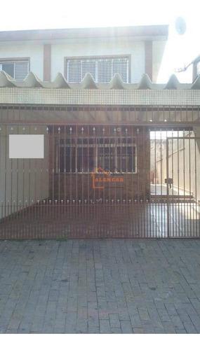 Sobrado Com 2 Dormitórios À Venda Por R$ 480.000,00 - Jardim Santa Maria - São Paulo/sp - So0180