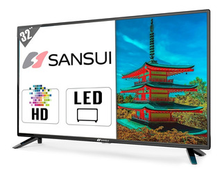 Television Led 32 PuLG Sansui Hd Smx32z1 Pantalla Led