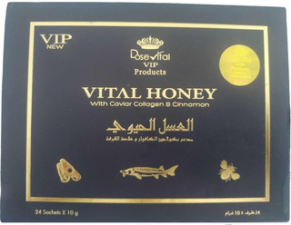 Mel Vital Honey Vip Natural 24 Unidades