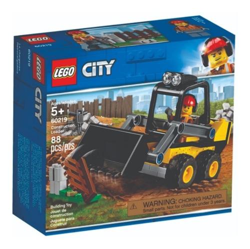 Imagem 1 de 10 de Lego City - Trator De Construção